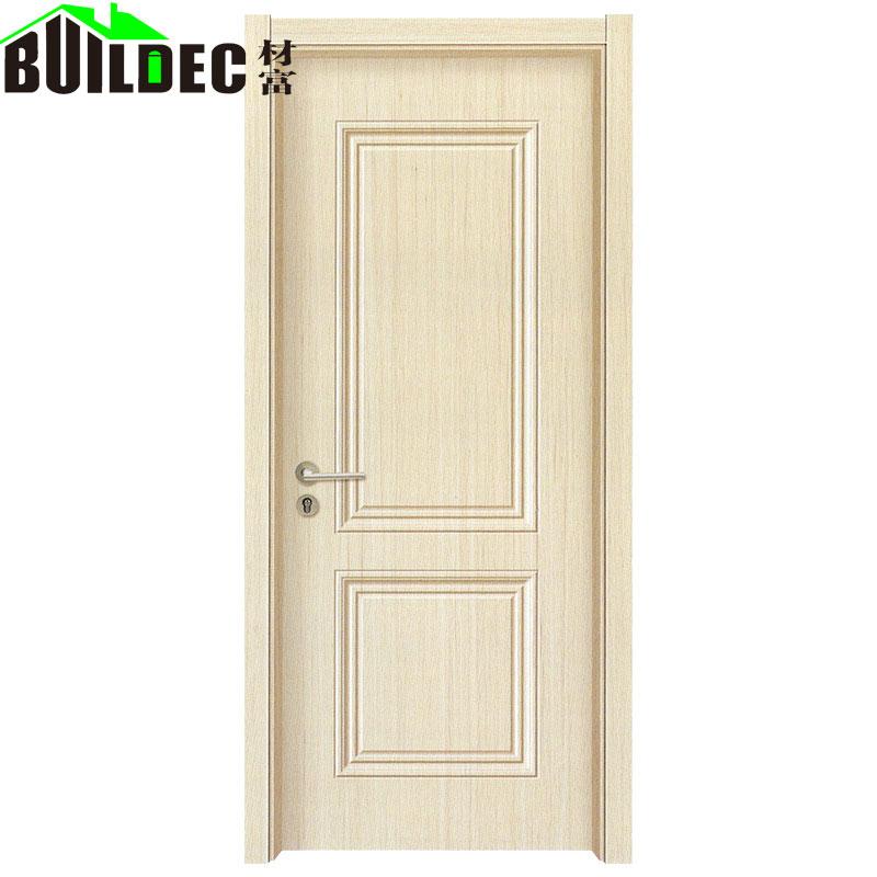 室内强化生态木门厂家环保室拼装实木门多层夹板工程木门定制