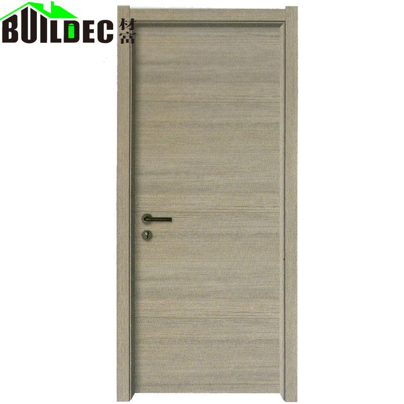 定做室内实木套装门隔音多层实木生态门免漆工程木门厂家