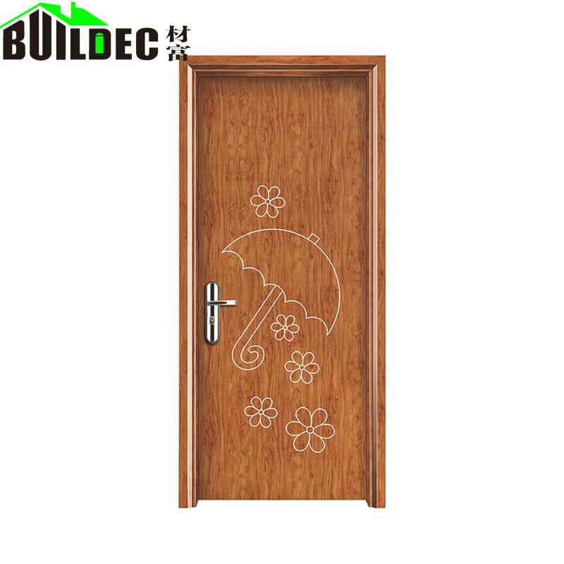 定制实木室内复合门静音免漆拼装木门简约办公室木门厂家
