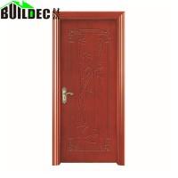 定制平雕实木橡木门环保室内实木复合门免漆多层实木拼装门厂家