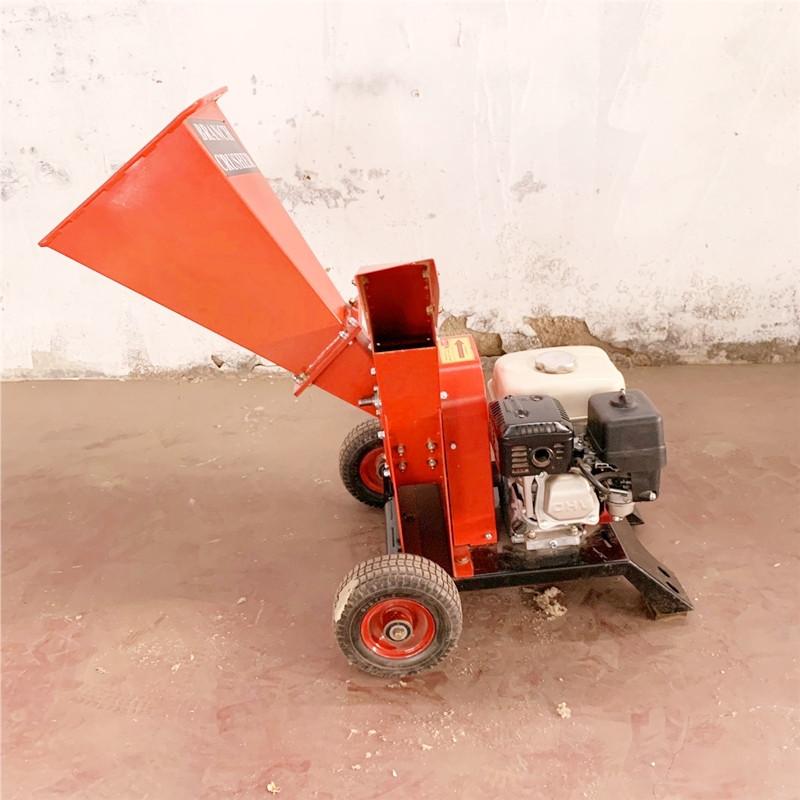 电动碎枝机 大功率碎枝机 园林树枝粉碎机 12马力树枝粉碎机